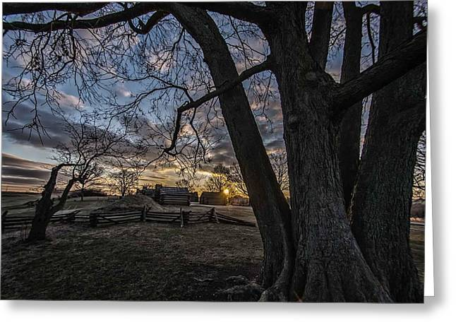 Morning At Valley Forge Greeting Card by Jeff Oates Photography