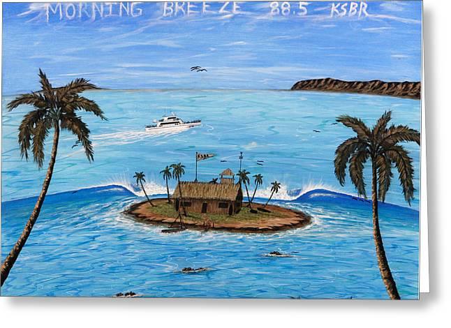 Morning Breeze Cruise Greeting Card