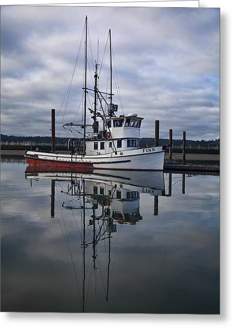 Morning Calm Newport Oregon Greeting Card