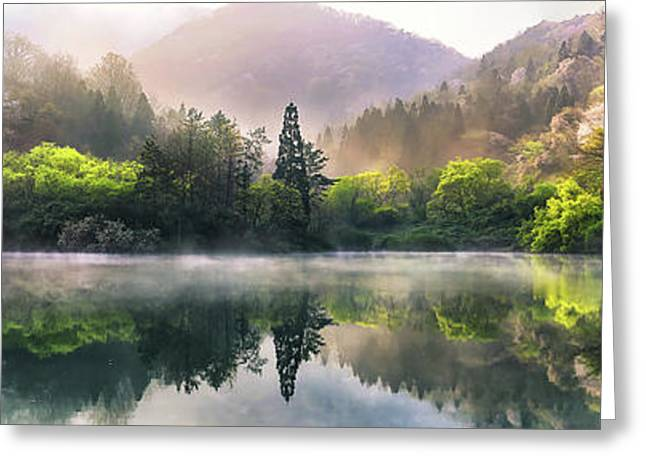 Morning Calm Greeting Card
