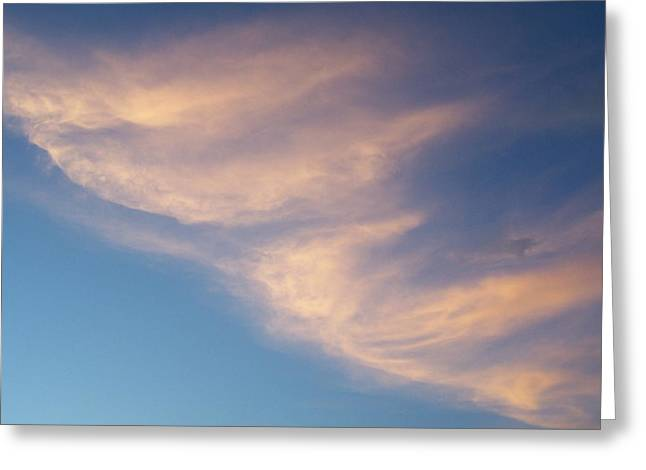 Greeting Card featuring the photograph Morning Clouds by Ron Roberts