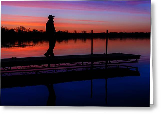 Greeting Card featuring the photograph Morning Color Forest Lake Mn by RC Pics