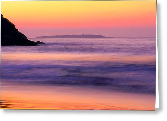 Morning Dream Singing Beach Greeting Card