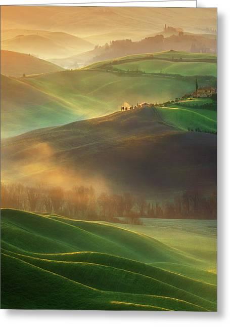 Morning Dreams Greeting Card