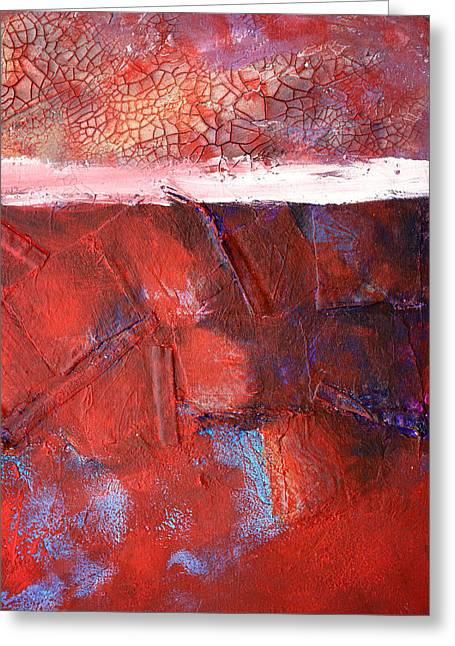 Morning Grit Greeting Card by Nancy Merkle