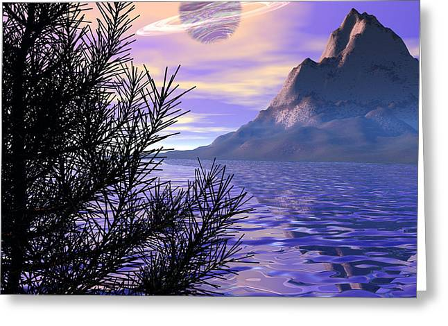 Morning Has Broken Greeting Card by Michele Wilson