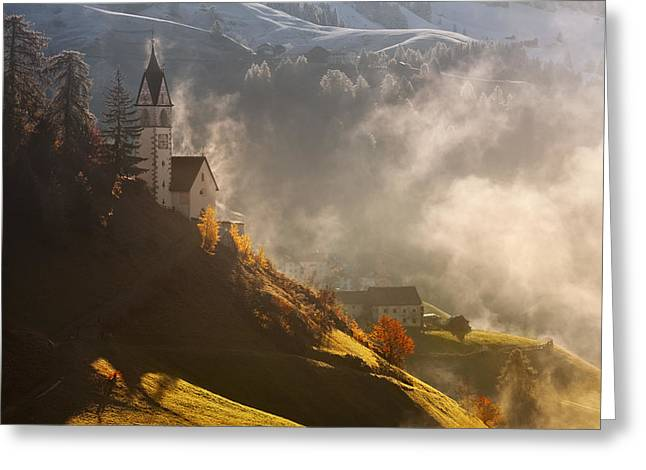 Morning In Alpine Valley Greeting Card