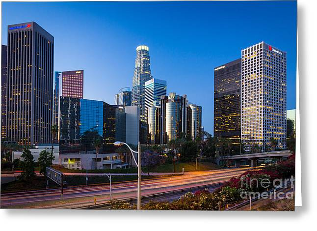 Morning In Los Angeles Greeting Card