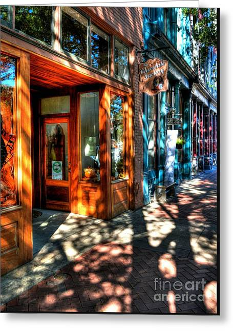 Morning In Paducah Greeting Card by Mel Steinhauer