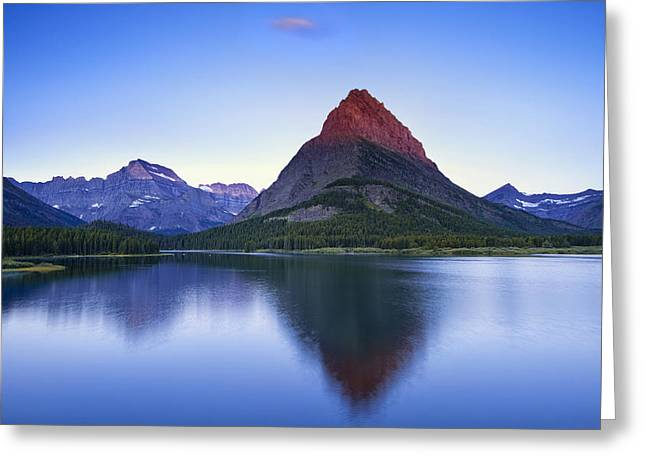Morning In The Mountains Greeting Card by Andrew Soundarajan