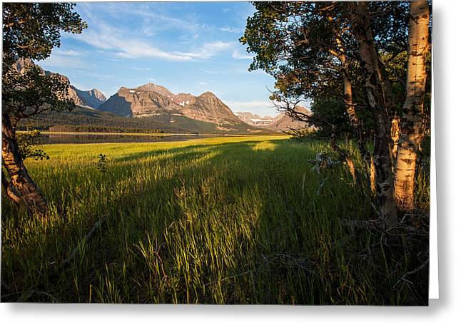 Greeting Card featuring the photograph Morning In The Mountains by Jack Bell