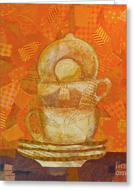 Morning Joe Greeting Card by Desiree Paquette