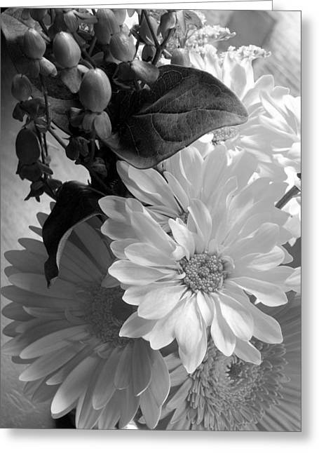 'morning Light Bouquet' Greeting Card