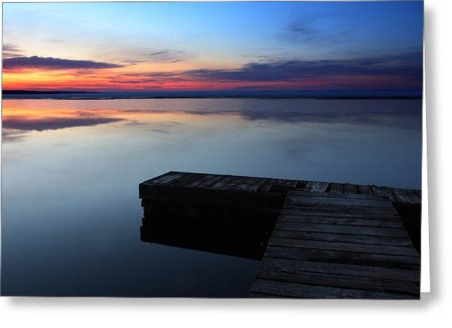 Morning Light Greeting Card by Brian Boudreau