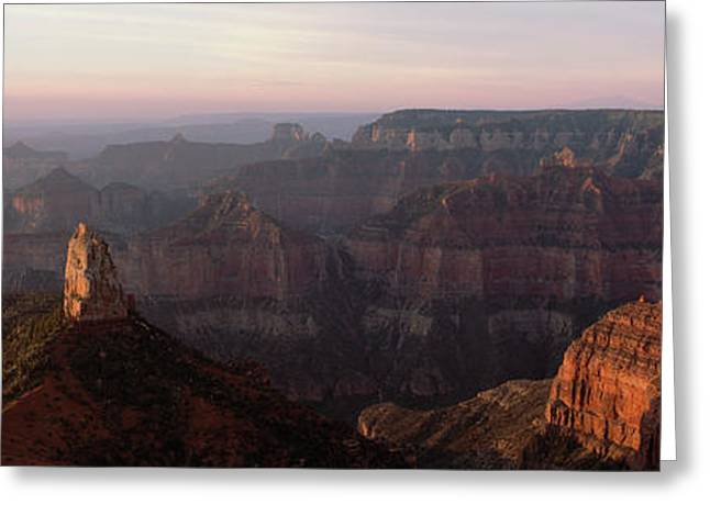 Morning Light On The Grand Canyon Greeting Card