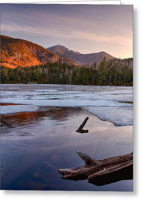 Morning Light On Whiteface Mountain Greeting Card by Panoramic Images