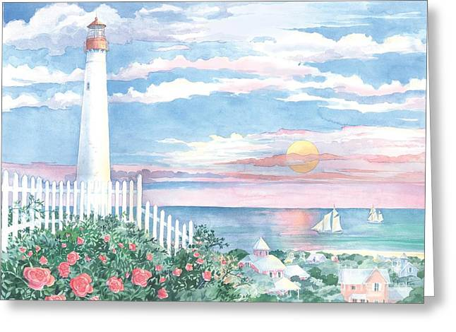 Morning Light Greeting Card by Paul Brent