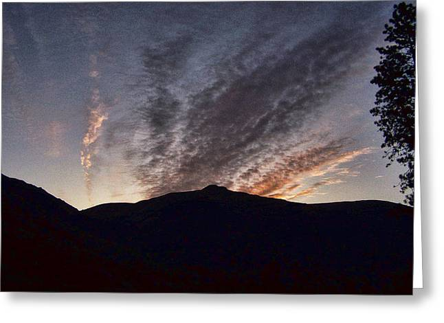 Morning Light Greeting Card by Ron Roberts