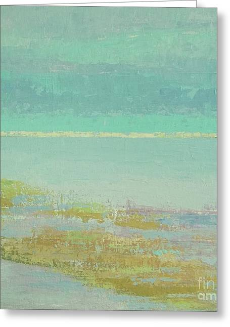 Morning Low Tide Greeting Card