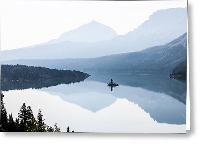 Morning Mist Greeting Card by Aaron Aldrich