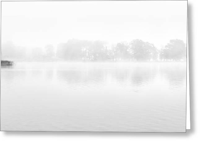 Morning Mist Greeting Card by Janet Burdon