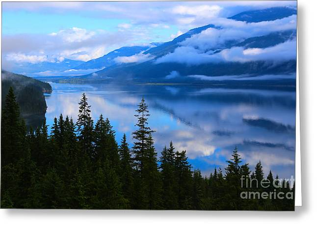 Morning Mist Rising Greeting Card by Marty Fancy