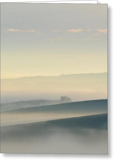 Morning Moravian Impresion  Greeting Card by Jaroslaw Blaminsky
