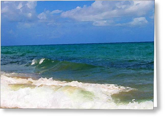 Morning On Boynton Beach 2 Greeting Card by Shawn Lyte