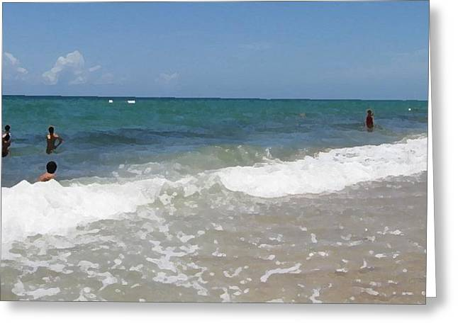 Morning On Boynton Beach 4 Greeting Card by Shawn Lyte