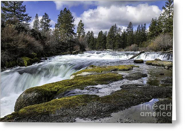 Morning On The Deschutes Greeting Card