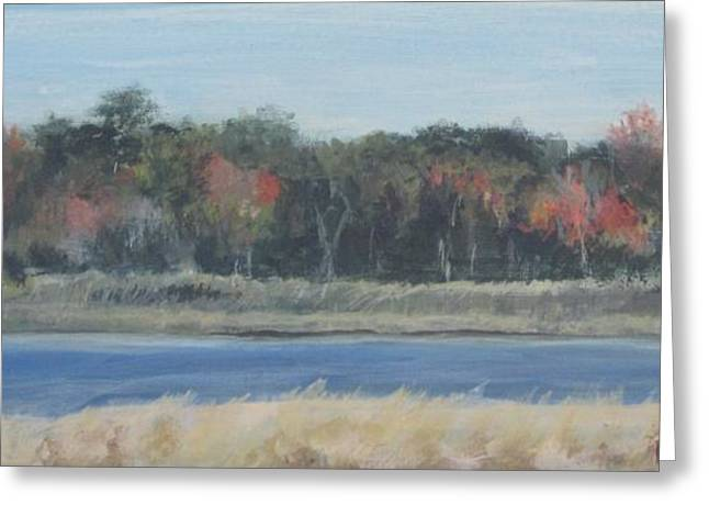 Morning On The Maurice River Greeting Card