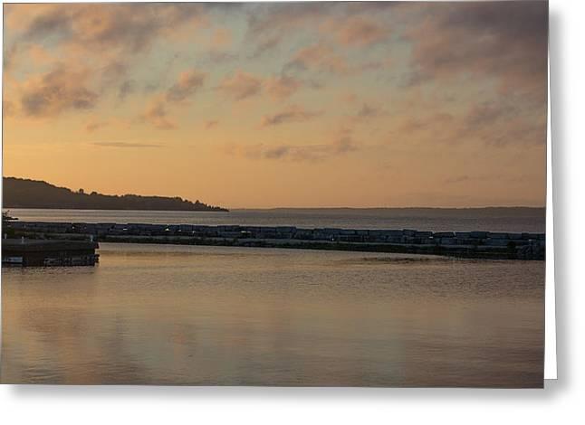 Morning Over Lake Simcoe Greeting Card