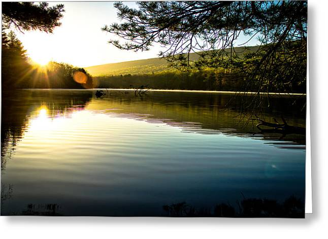 Morning Peace Greeting Card by Jahred Allen