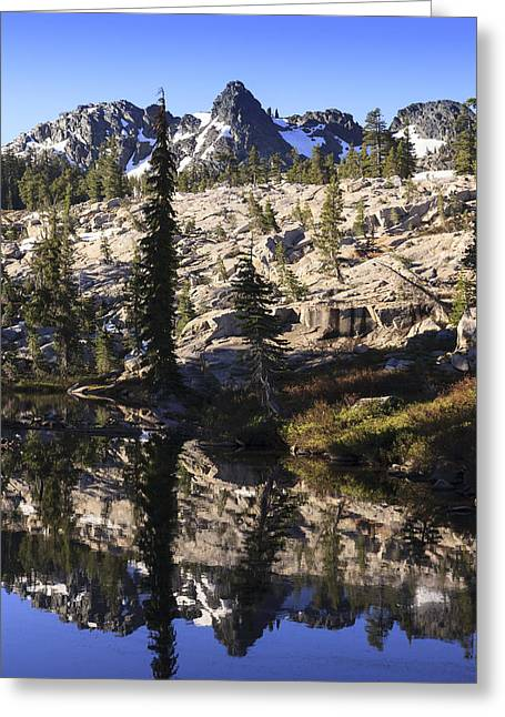 Morning Reflections Greeting Card by Karma Boyer