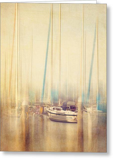 Morning Sail Greeting Card by Amy Weiss