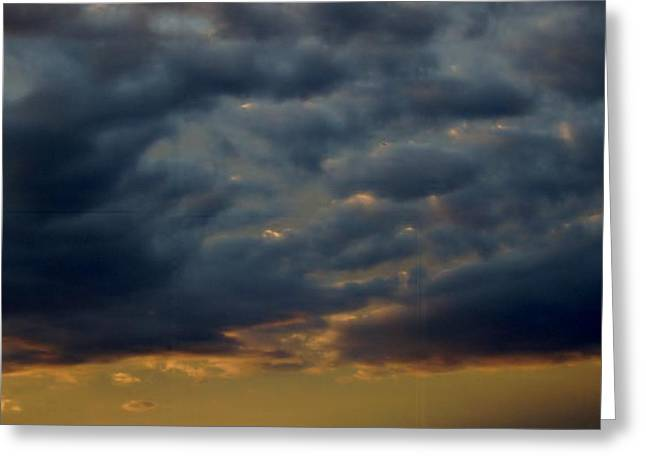Morning Sky Greeting Card by Yvette Pichette