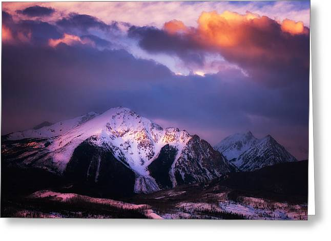 Morning Storm Greeting Card by Darren  White