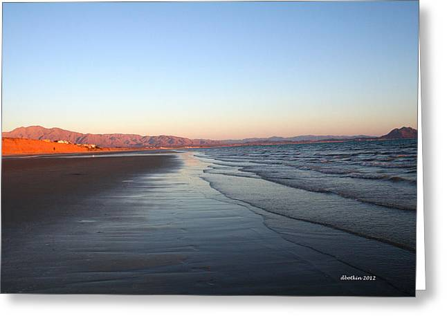 Morning Stroll Greeting Card by Dick Botkin