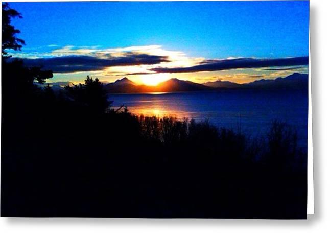 Morning Sun Greeting Card by Susan Mumma