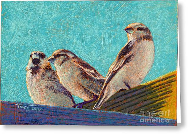 Morning Sunshine Greeting Card by Tracy L Teeter
