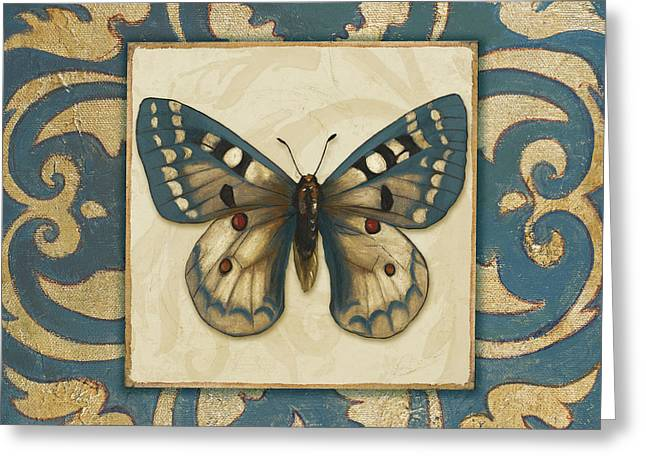 Moroccan Butterfly I Greeting Card