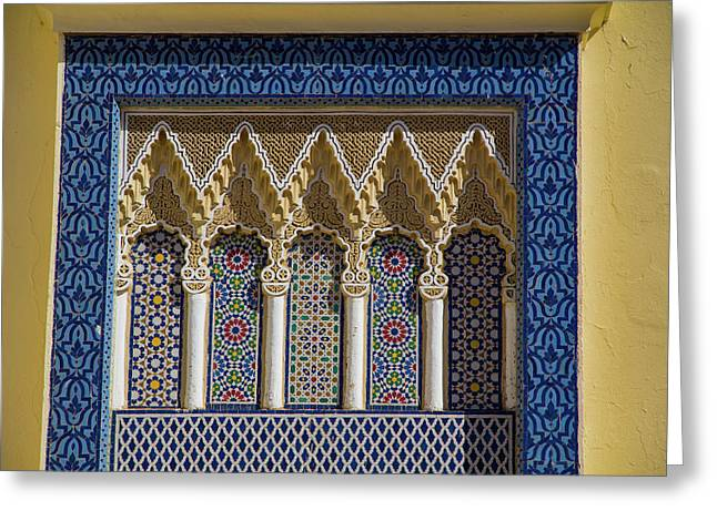 Morocco, Fes Medina Greeting Card by Emily Wilson