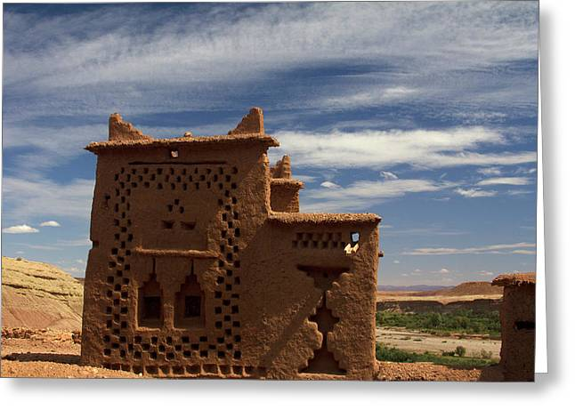 Morocco, Ouarzazate Greeting Card