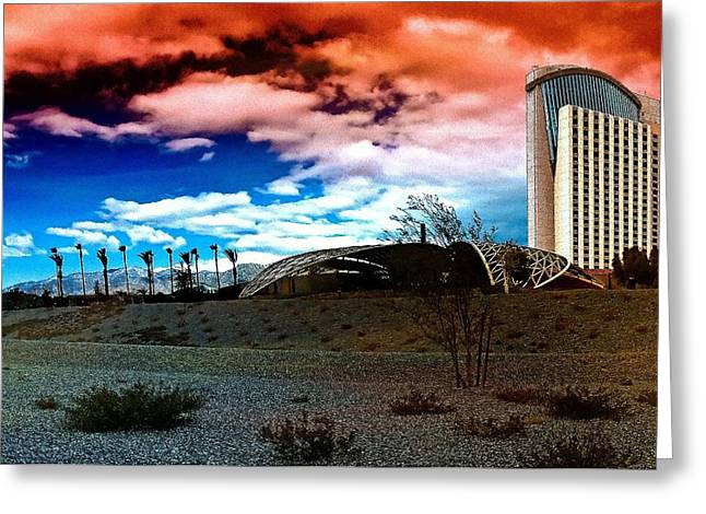Morongo Casino Greeting Card