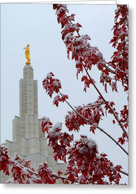 Moroni Greeting Card