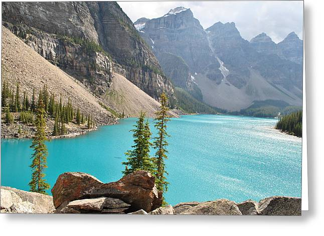 Morraine Lake Greeting Card