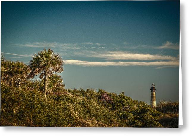 Morris Island Light Charleston Sc Greeting Card
