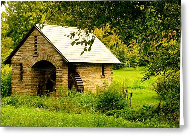 Morris Pumphouse Greeting Card