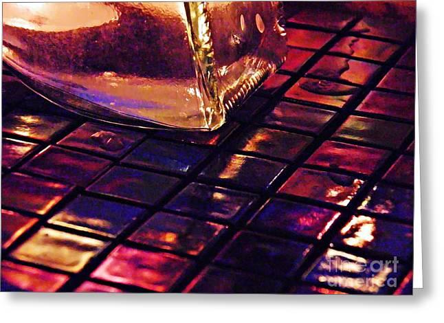 Mosaic 9 Greeting Card by Sarah Loft