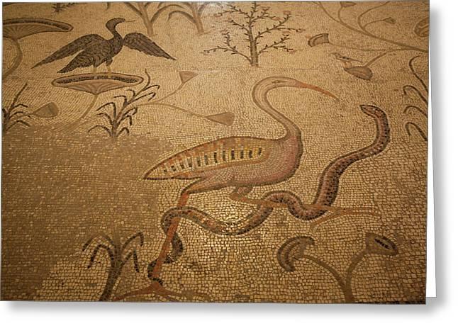 Mosaic Floor, Church Greeting Card